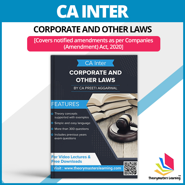 ca inter corporate and other laws