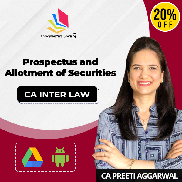 Prospectus and allotment of securities