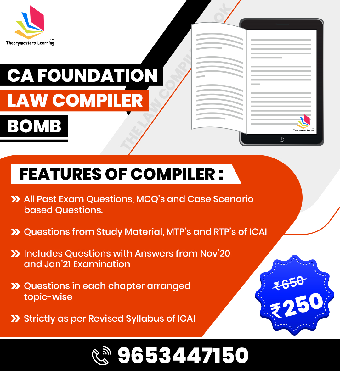 CA Foundation Law Compiler