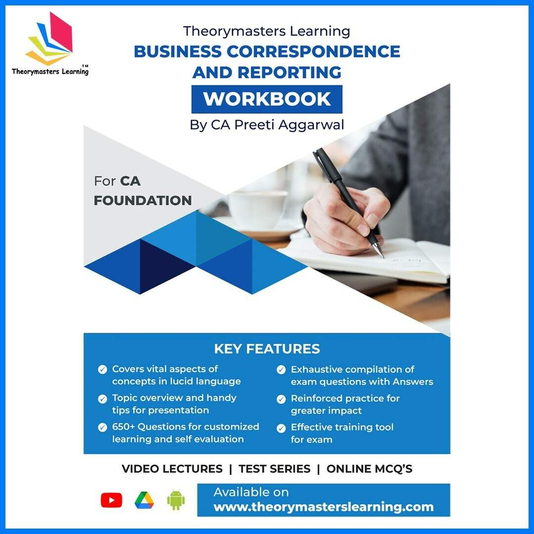 Business Correspondence and reporting